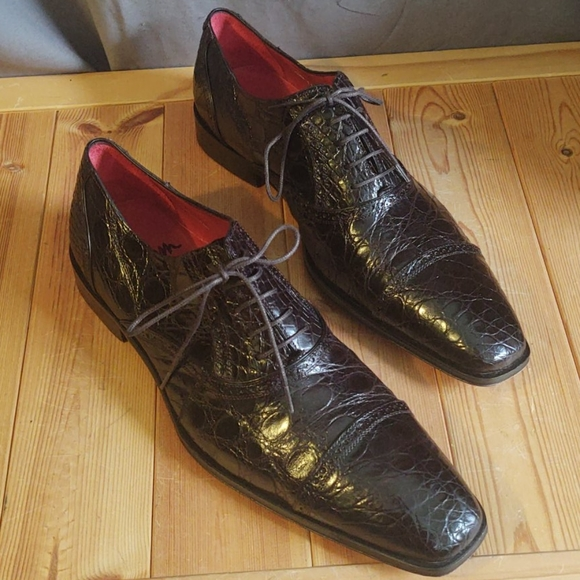 Mezlan Shoes | Alligator Niagra Custom